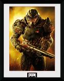 Doom- Marine Stampa del collezionista