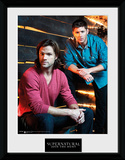 Supernatural- Sam And Dean Collector Print