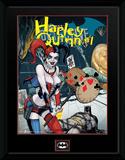 Batman- Harley Quinn Forever Evil Lámina de coleccionista