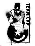 Captain America: Civil War - Team Captain America Prints