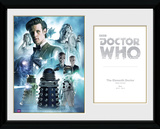Doctor Who- 11th Doctor Matt Smith Collector Print