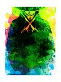 Vendetta Watercolor 2 Kunstdrucke von Lora Feldman