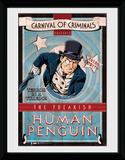 Batman- Human Penguin Lámina de coleccionista