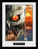 Terminator 2- T-800 Face Collector Print