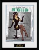 DC Bombshells- Catwoman Lámina de coleccionista