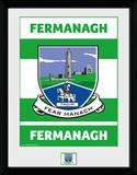 GAA County - Fermanagh Lámina de coleccionista