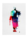 Leon Watercolor Reproduction giclée Premium par Lora Feldman