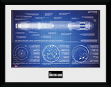 Doctor Who- Sonic Screwdriver Blueprint Collector Print