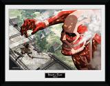Attack On Titan- Against A Titan Samletrykk