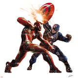 Captain America: Civil War - Captain America Vs Iron Man. Choose a Side Prints