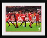Liverpool- Legends Lámina de coleccionista