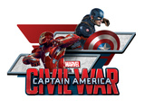 Captain America: Civil War - Captain America Vs Iron Man. Choose a Side Print