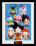 Dragon Ball Z- Chibi Heroes Collector Print