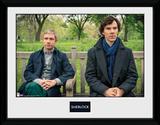 Sherlock- Park Bench Collector Print