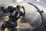 Captain America: Civil War - War machine Poster