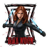 Captain America: Civil War - Black Widow Prints