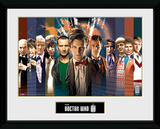 Doctor Who- 11 Doctors Colloage Collector Print