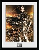 Terminator 2- T-800 Up Close Wydruk kolekcjonerski