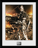 Terminator 2- T-800 Up Close Collector Print
