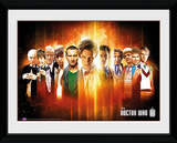 Doctor Who- 11 Regenerations Collector Print