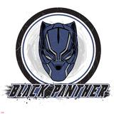 Captain America: Civil War - Black Panther Print