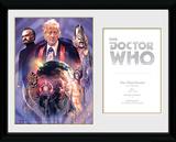 Doctor Who- 3rd Doctor Jon Pertwee Indrammet memorabilia