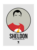 Sheldon Posters by David Brodsky