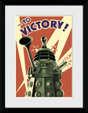 Doctor Who- Dalek To Victory Collector Print
