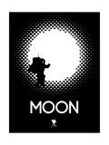 Moon 2 Poster by David Brodsky