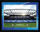 Chelsea- Stamford Bridge Lámina de coleccionista