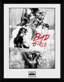 DC Comics-  Badgirls Black & White Lámina de coleccionista