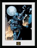 Batman- Catwoman Moonlit Kiss Lámina de coleccionista