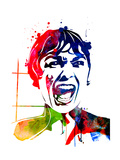 Psycho Watercolor Reprodukcje autor Lora Feldman
