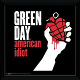 Green Day - American Idiot Framed Album Art Collector Print