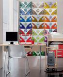 VW Multi-Color Wall Mural Carta da parati decorativa