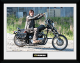 The Walking Dead- Daryl's Bike Framed Memorabilia