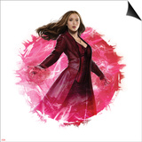 Captain America: Civil War - Scarlet Witch Prints