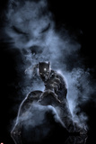 Captain America: Civil War - Black Panther Stampa su metallo