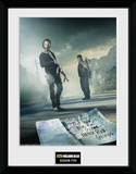 The Walking Dead- Season 5 Reproduction encadrée à collectionner