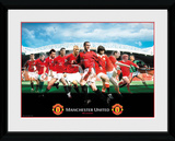 Manchester United- Legends Collector Print