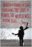 Power Of Love Jimi Wall Print