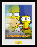 The Simpsons- Homerland Collector Print