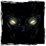 Captain America: Civil War - Black Panther Konst på metall