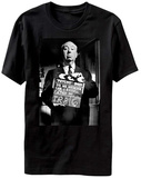 Alfred Hitchcock- Psycho Clapboard T-shirts
