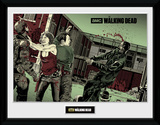 The Walking Dead- Maggie Glen Print Collector-tryk