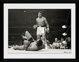 Muhammad Ali- Liston Stare Down Wydruk kolekcjonerski