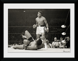 Muhammad Ali- Liston Stare Down Lámina de coleccionista