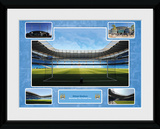 Manchester City- Etihad Stadium Collector-tryk