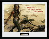 The Walking Dead- Michonne Kill Collector Print