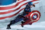 Captain America: Civil War Plastic Sign